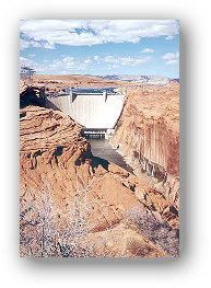 Glen Canyon Dam Lake Powell