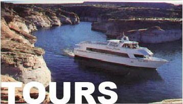TOURS at lake Powell