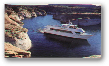 Boat Tours at Lake Powell in Russian