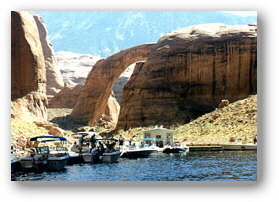 Rainbow Bridge Tours at Lake Powell