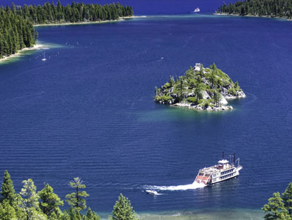 Features: The Tahoe Queen offers both Emerald Bay Sightseeing cruises and Sierra Sunset Dinner cruises that allow guests to enjoy the spectacular beauty .